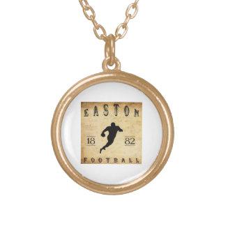 1882 Easton Pennsylvania Football Jewelry