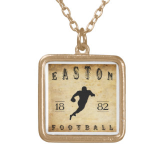 1882 Easton Pennsylvania Football Personalized Necklace