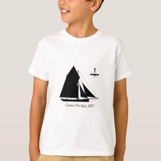 1882 Oyster Dredger - tony fernandes T-Shirt