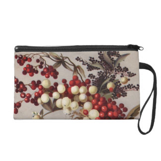 1882: Traditional holly berries Wristlet