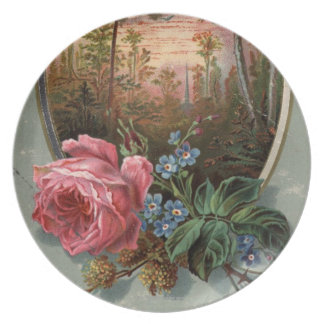 1883: Flowers of the woods Plate