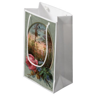 1883: Flowers of the woods Small Gift Bag