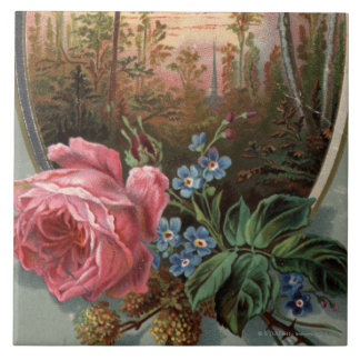 1883: Flowers of the woods Tile