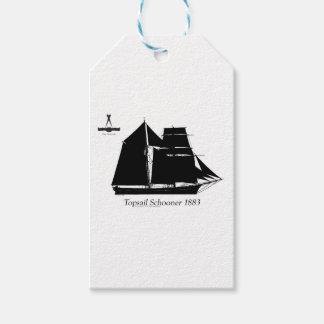 1883 topsail schooner - tony fernandes gift tags