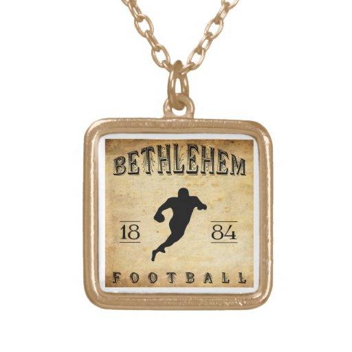 1884 Bethlehem Pennsylvania Football Personalized Necklace