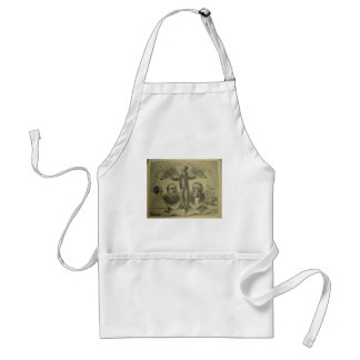 1884 Cleveland - Thurman Adult Apron
