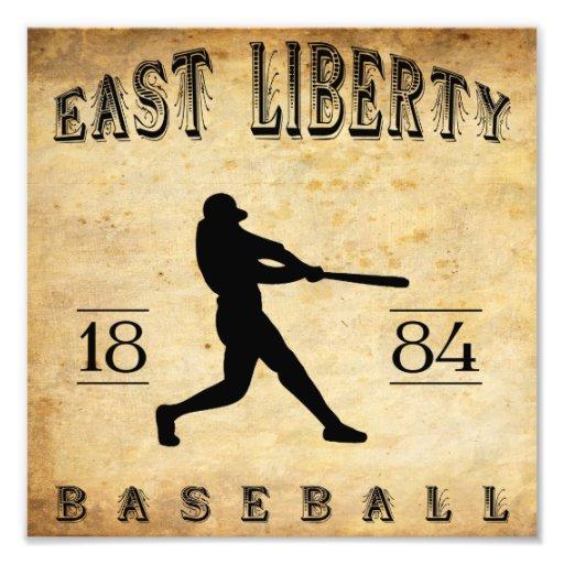 1884 East Liberty Ohio Baseball Photograph