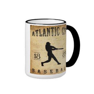 1885 Atlantic City New Jersey Baseball Coffee Mugs