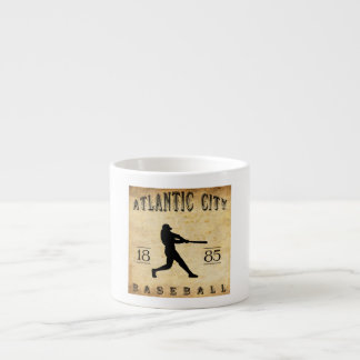 1885 Atlantic City New Jersey Baseball Espresso Cup