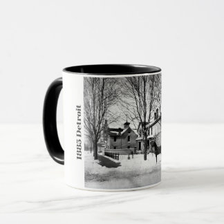 1885 Detroit on Woodward Mug