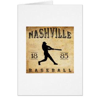 1885 Nashville Tennessee Baseball Greeting Cards
