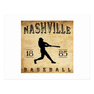 1885 Nashville Tennessee Baseball Postcards