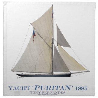 1885 Puritan Napkin