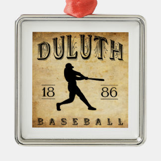 1886 Duluth Minnesota Baseball Christmas Ornament