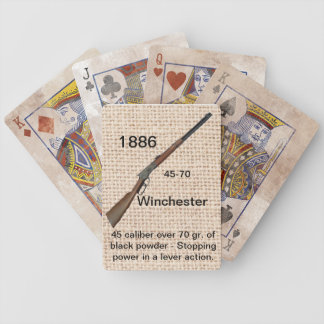 1886 Winchester Playing Cards