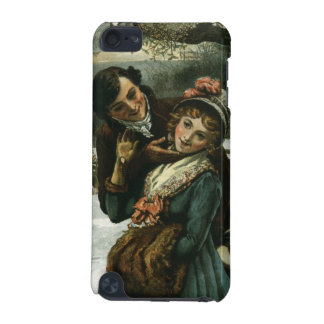 1887: A man tries to kiss a shy woman iPod Touch (5th Generation) Cases