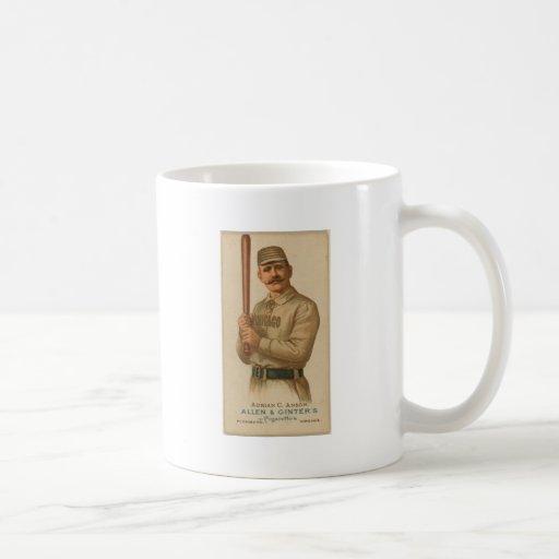 1887 Adrian C. Anson Coffee Mug