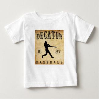 1887 Decatur Illinois Baseball T-shirts