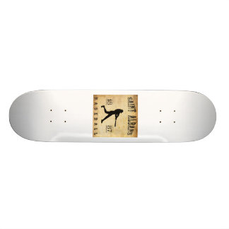1887 Saint Albans Vermont Baseball Skate Boards