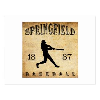 1887 Springfield Missouri Baseball Postcard