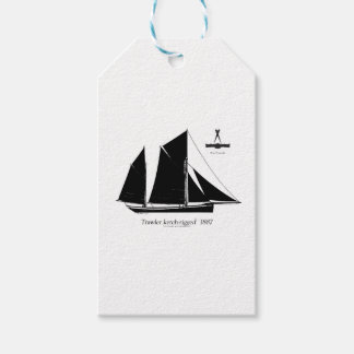 1887 trawler ketch-rigged - tony fernandes gift tags