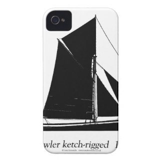 1887 trawler ketch-rigged - tony fernandes iPhone 4 covers
