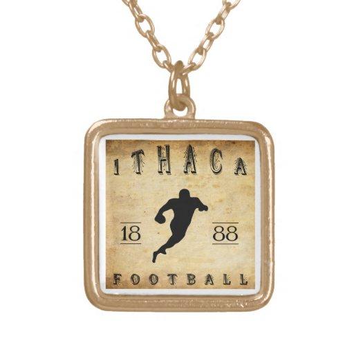 1888 Ithaca New York Football Necklaces