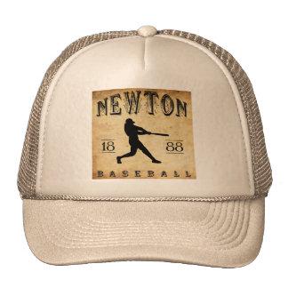 1888 Newton Kansas Baseball Mesh Hats