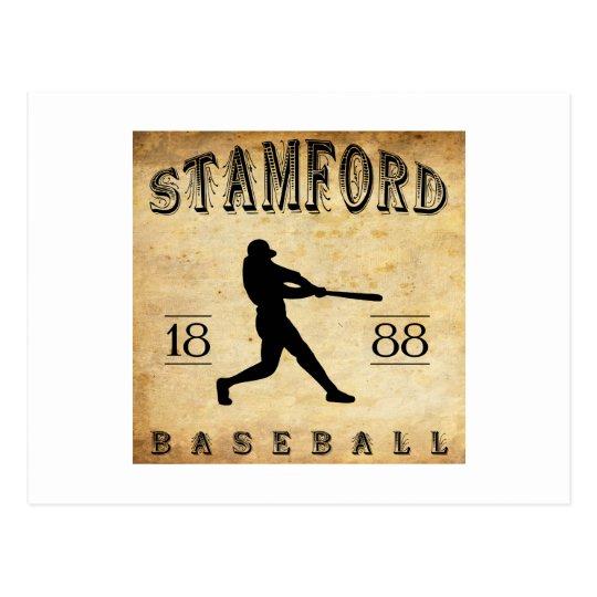 1888 Stamford Connecticut Baseball Postcard