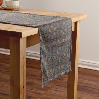 1888 Vintage William Morris Ispahan Short Table Runner