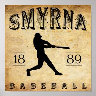 1889 Smyrna Delaware Baseball Posters