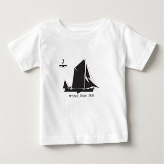 1889 spritsail barge - tony fernandes baby T-Shirt