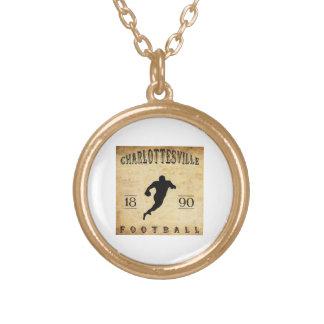 1890 Charlottesville Virginia Football Jewelry
