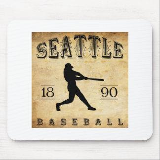 1890 Seattle Washington Baseball Mousepad