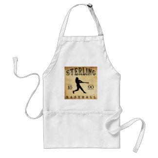1890 Sterling Illinois Baseball Aprons