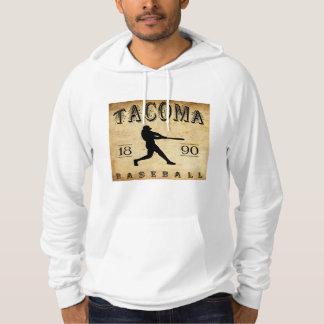 1890 Tacoma Washington Baseball Hoodie