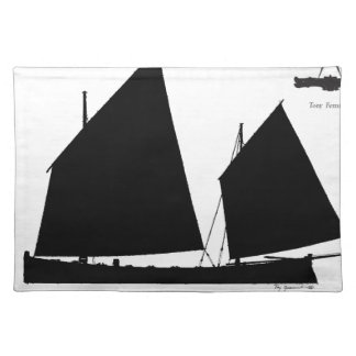 1890 yawl - tony fernandes placemat
