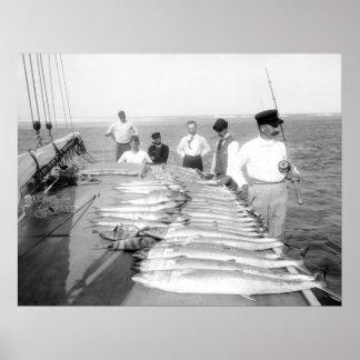 1890s Fishing Poster