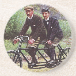 1890's Tandem Bicycle Coaster