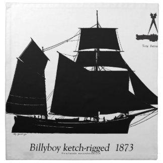 1891 Billyboy - tony fernandes Napkin