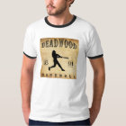 1891 Deadwood South Dakota Baseball T-Shirt