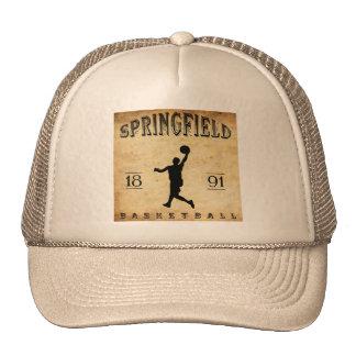 1891 Springfield Massachusetts Basketball Cap