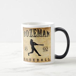 1892 Bozeman Montana Baseball Morphing Mug