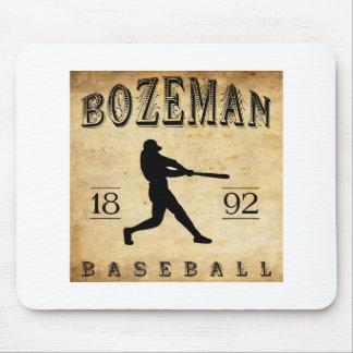 1892 Bozeman Montana Baseball Mouse Pad