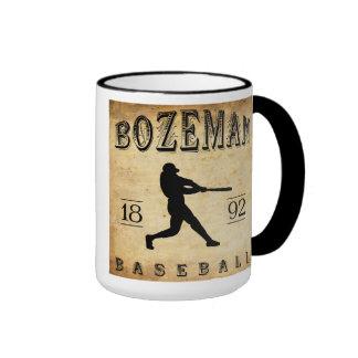 1892 Bozeman Montana Baseball Coffee Mug