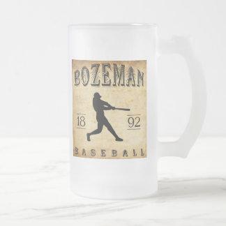 1892 Bozeman Montana Baseball Coffee Mugs