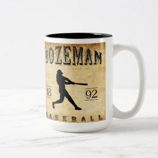 1892 Bozeman Montana Baseball Mug