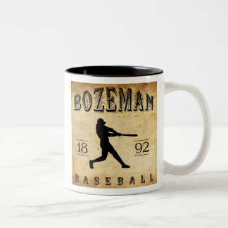 1892 Bozeman Montana Baseball Two-Tone Mug