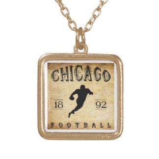 1892 Chicago Illinois Football Pendants