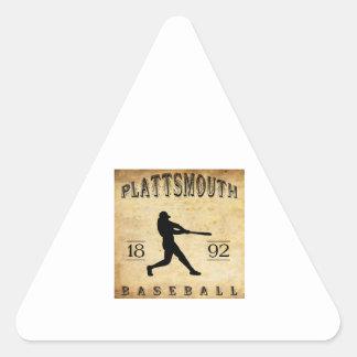 1892 Plattsmouth Nebraska Baseball Stickers